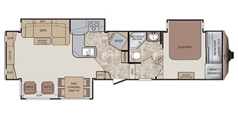 keystone cougar floor plans 2012 keystone cougar 327res trailer reviews prices and