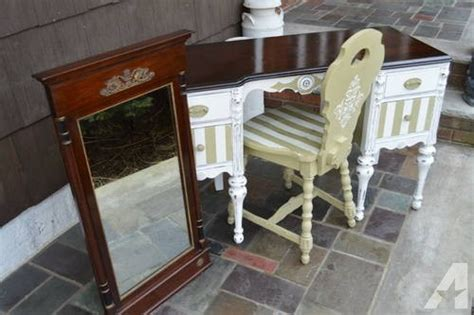 shabby chic vanity desk for sale in east hanover new