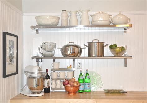 functional and stylish wall shelf ideas stainless steel floating shelf style meets function