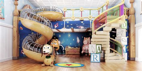 toy story bedroom inspired by the internet mouse on the mind