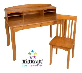 Kidkraft Avalon Desk With Hutch Honey 26706 Honey Large Avalon Desk Furniture Times