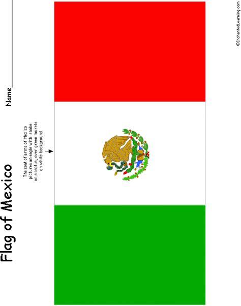 mexico flag colors mexico s flag enchantedlearning