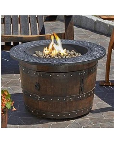 whiskey barrel pit great deals on reclaimed whiskey barrel pit