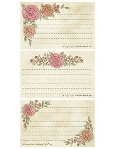 free printable decorative note cards old birthday card cute vintage card collection