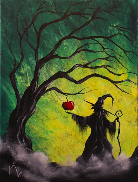 acrylic painting enchanted apple step by step acrylic painting on canvas