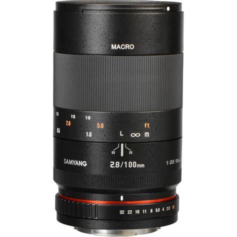 Samyang 100mm F2 8 Telephoto Macro Lens For Fuji X 1 samyang 100mm f2 8 ed umc macro a mount lens info