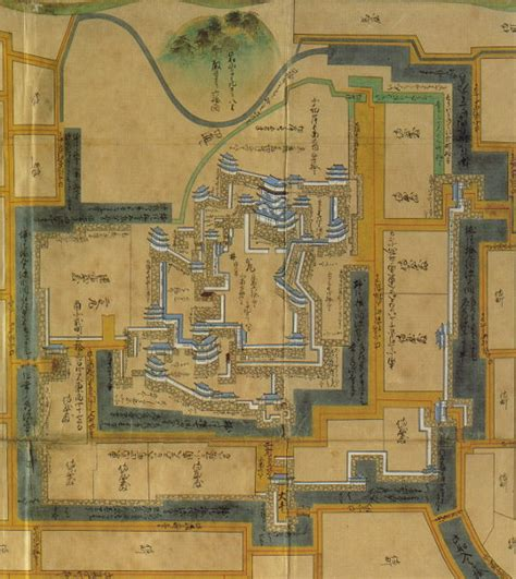 japanese castle floor plan japanese castle floor plan map pictures to pin on