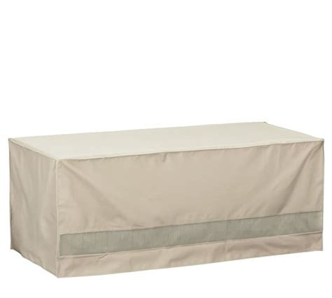 Universal Outdoor Storage Bench Cover Pottery Barn