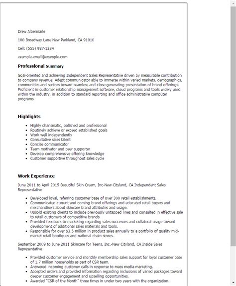 Wine Sales Representative Sle Resume by Resume For Wine Sales Representative