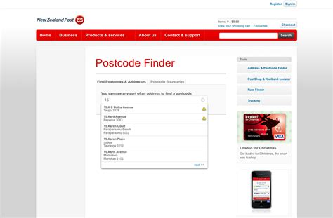 Address Postcode Finder New Zealand Post Pin Find A Postcode On