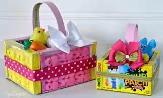 easter basket edible easter baskets easy easter craft hip2save