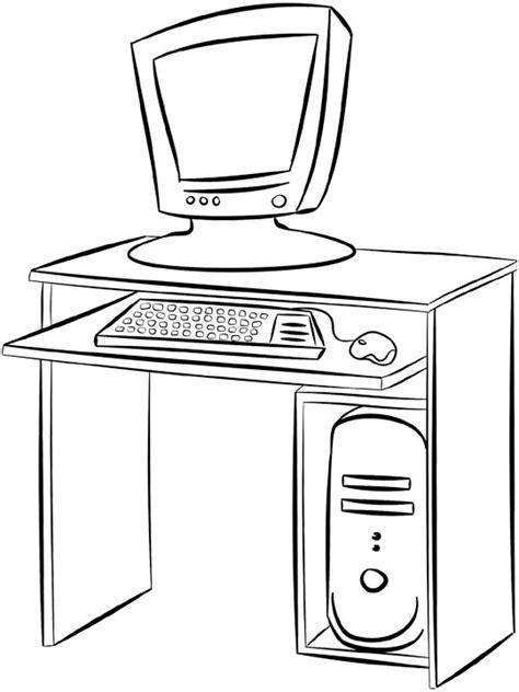 dessin de bureau dessins de meubles 224 colorier