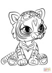 printable coloring pages shimmer and shine nahal from shimmer and shine coloring page free