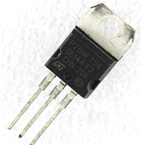 transistor w10nk80z p75nf75 datasheet n channel 75v power mosfet st