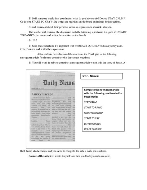Secondary Level lesson plan 2 secondary level