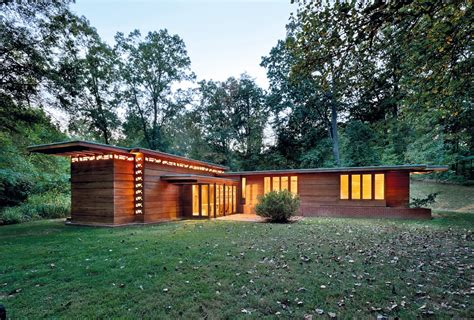 Usonian House by The United States Of Architecture Vie Magazine