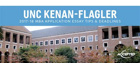 Unc Mba Admissions by Unc Kenan Flagler Mba Essay Tips Deadlines The Gmat Club