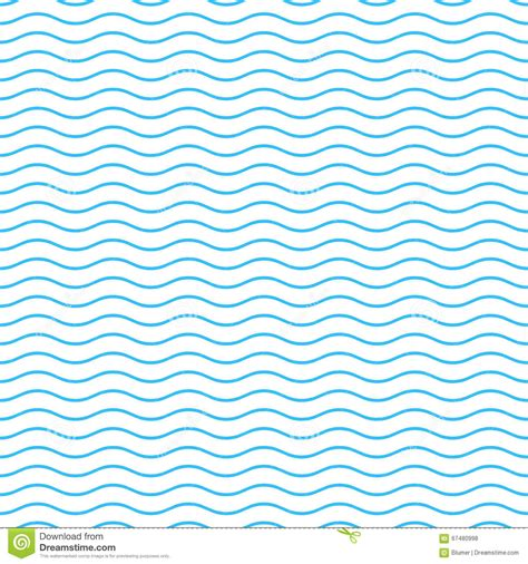 pattern line blue seamless wavy line pattern stock vector image 67480998