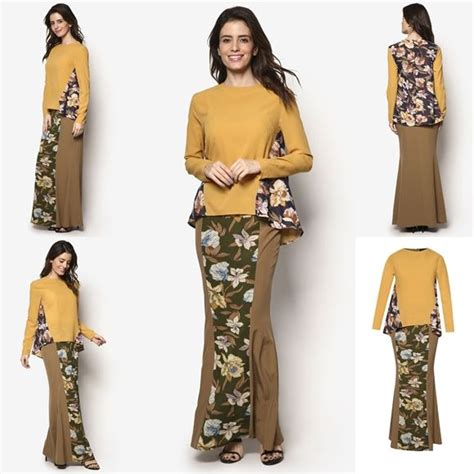 design baju indonesia fesyen baju kurung moden terkini 2016 2017 design by