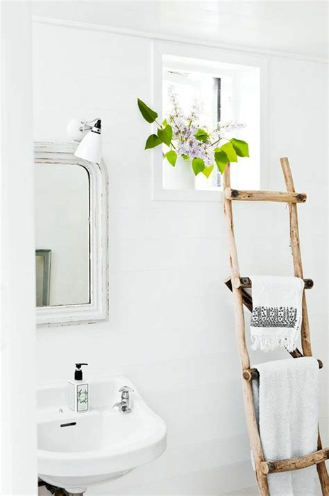 handtuchhalter holzleiter handtuchhalter aus holz tolle modelle f 252 rs badezimmer
