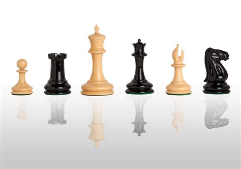luxury chess set uscf sales the cooke luxury chess set pieces only 3 5 quot king black and natu ebay