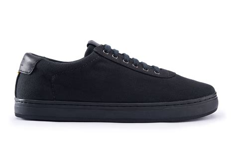 all black sneaker syou co 13 all black basic