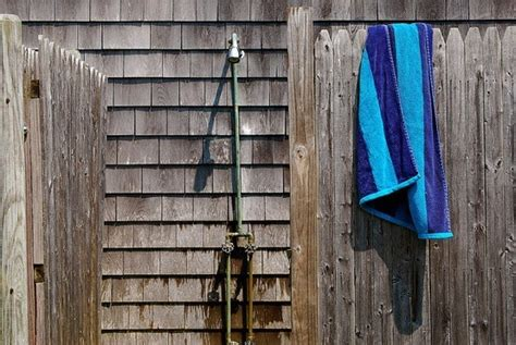 Outdoor Shower In Cold Climate by Outdoor Showers 101 Bob Vila