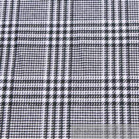Glencheck Stoff Kaufen stoff baumwolle glencheck schwarz wei 223 robust stabil