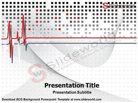 ecg tutorial powerpoint ecg background powerpoint template slide world authorstream