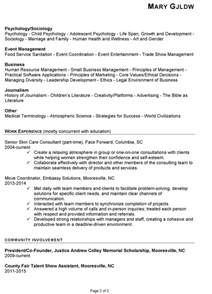 Sle Human Services Resume by Resume Sle For Human Services Susan Ireland Resumes