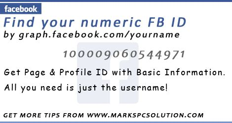 fb numeric id fast download how to get facebook numeric id