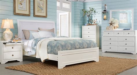 white bedroom sets queen belcourt white 5 pc queen upholstered bedroom queen