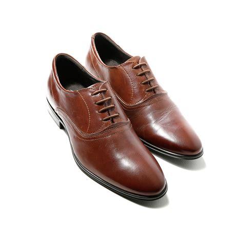 lacet chaussure de ville rond marron lacet de chaussure elastique