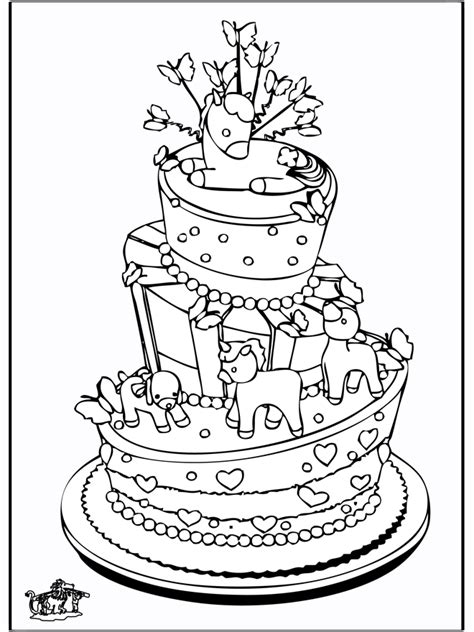 Theme Coloring Pages Birthday Celebration Cake Az Celebration Coloring Pages