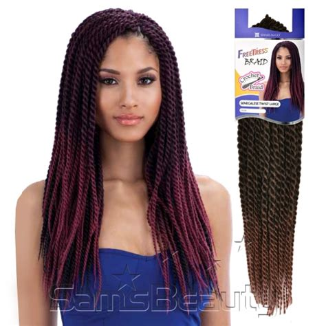 types crochet senegalese twist hair freetress synthetic hair crochet braids senegalese twist