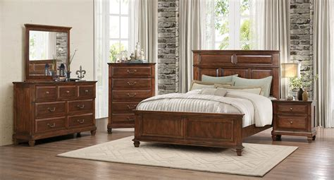 Homelegance Bedroom Set by Homelegance Bardwell Bedroom Set Brown Cherry 1870