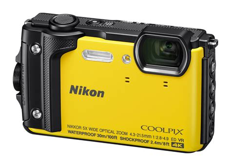 Nikon Coolpix W300 Yellow 4k Kamera Underwater nikon coolpix w300 all weather launched digital