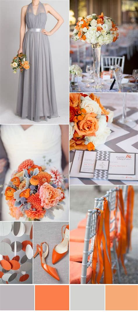 orange wedding colors 25 best orange wedding colors ideas on orange