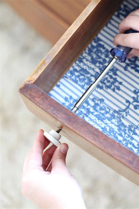 Make Drawer Pulls by Make Your Own Faux Marble Drawer Knobs A Beautiful Mess