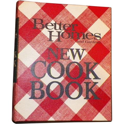 1968 better homes and gardens new cookbook from