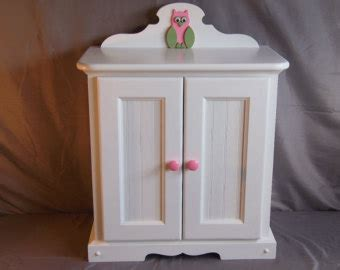 girls armoire items similar to handmade american girl doll armoire on etsy