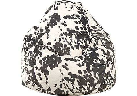 cow print baby bean bag big joe teardrop black cow bean bag chair seating