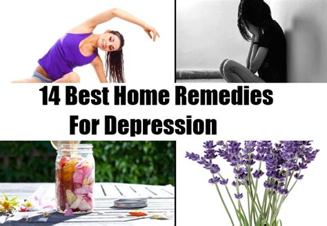 best home remedies for depression treatments