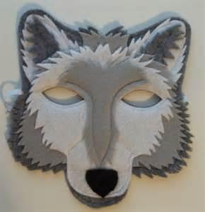 Wolf Mask Grey Wolf Mask Felt Animal Mask By Thekidzclothesline On Etsy Felt Pinterest Jewelry Pets