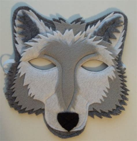 How To Make A Wolf Mask Out Of Paper - the 25 best ideas about wolf mask on masks