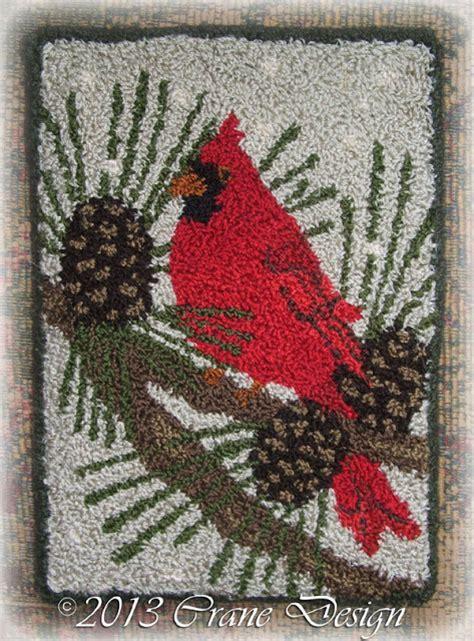 Punch Rug Kits by Crane Design By Jan Mott Wool Applique Rug