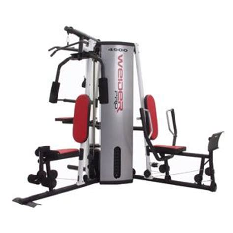 weider pro 4900 weight system fitness sports