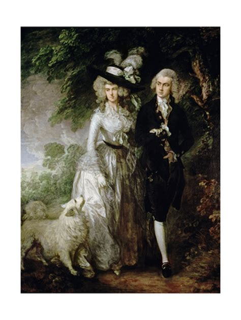 libro gainsborough a portrait mr and mrs william hallett the morning walk de c 1785 picassomio
