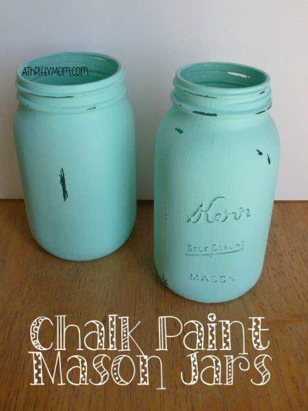 chalkboard paint craft ideas chalk paint jars easy craft idea a thrifty