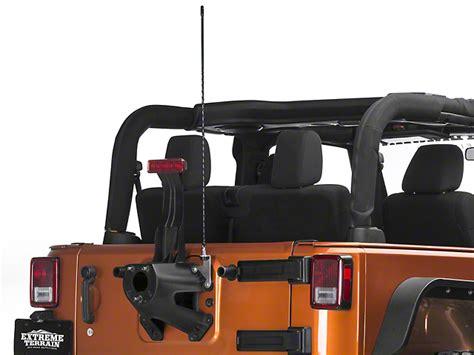 jeep wrangler cb wrangler cb antenna mount kit w antenna 07 17 wrangler